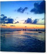 Siesta Key Sunset 1 Canvas Print