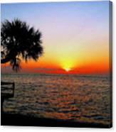 Siesta Key Sunset 2 Canvas Print