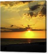 Siesta Sundown Canvas Print