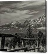 Signal Mtn Grand Teton Canvas Print