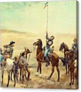 Signaling The Main Command 1885 Canvas Print