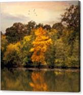 Signs Of Autumn  Canvas Print
