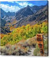 Signs Of Grandeur  Canvas Print