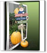 Signs Of Halloween Canvas Print