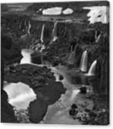 Sigoldufoss Waterfalls Iceland 1294 Canvas Print
