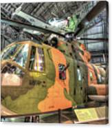 Sikorsky Hh-3 Jolly Green Giant Canvas Print