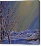 Silence Flows Canvas Print