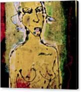Silent Abuse Canvas Print