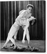 Silent Film Still: Dancing Canvas Print