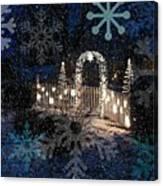 Silent Night Snow Canvas Print
