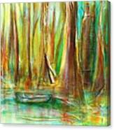 Silent Swamp Canvas Print