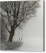 Silently Swinging Canvas Print
