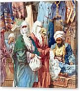 Silk Bazaar Canvas Print