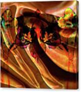 Silk Folds Canvas Print