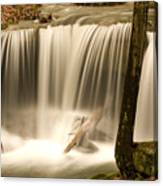 Silken Waterfall Canvas Print