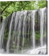 Silky Waterfalls Canvas Print
