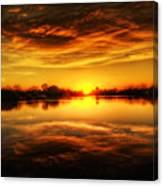 Silky Sunset  Canvas Print