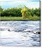 Silky Susquehanna River Canvas Print