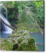 Silky Waterfall Canvas Print