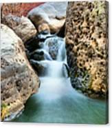 Silky Waters Of Jemez Springs Canvas Print