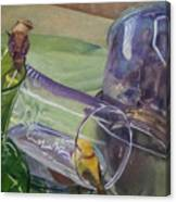 Silver Bowls Canvas Print