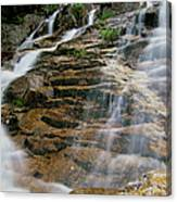 Silver Cascades - Crawford Notch New Hampshire Canvas Print