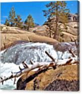 Silver Creek Up High Canvas Print