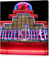 Silver Diner Canvas Print