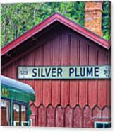 Silver Plume Station Canvas Print