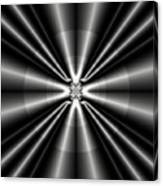 Silver Rays 1 Canvas Print
