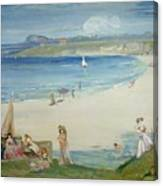 Silver Sands Canvas Print