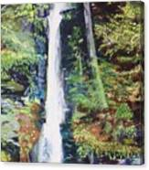 Silver Thread Falls Canvas Print