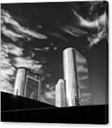 Silver Towers Canvas Print