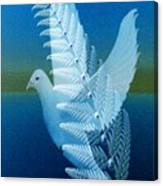 Silver-wing Canvas Print