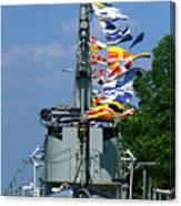Silversides Flags Canvas Print