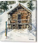 Silvertip Lodge Canvas Print