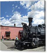 Silverton Durango Steam Train - Silverton Colorado Canvas Print