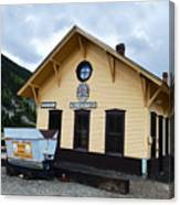 Silverton Train Depot Canvas Print