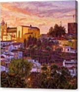 Silves Dusk Canvas Print