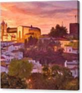 Silves, The Algarve Canvas Print