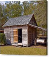 Simmons Cabin Built In 1873 In Orange County Florida Canvas Print