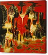Simpathy For The Devil Canvas Print