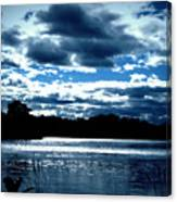 Simple Blue Canvas Print