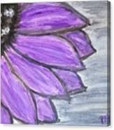 Simple Purple  Canvas Print
