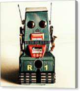 Simple Robot From 1960 Canvas Print