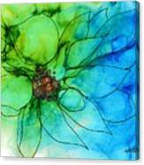 Simply Floral Canvas Print