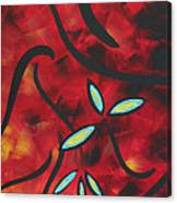 Simply Glorious 1 By Madart Canvas Print