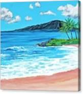 Simply Maui 18 X 24 Canvas Print