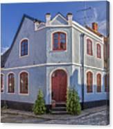 Simrishamn Townhouse Canvas Print