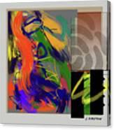 Simultaneous 2 Canvas Print